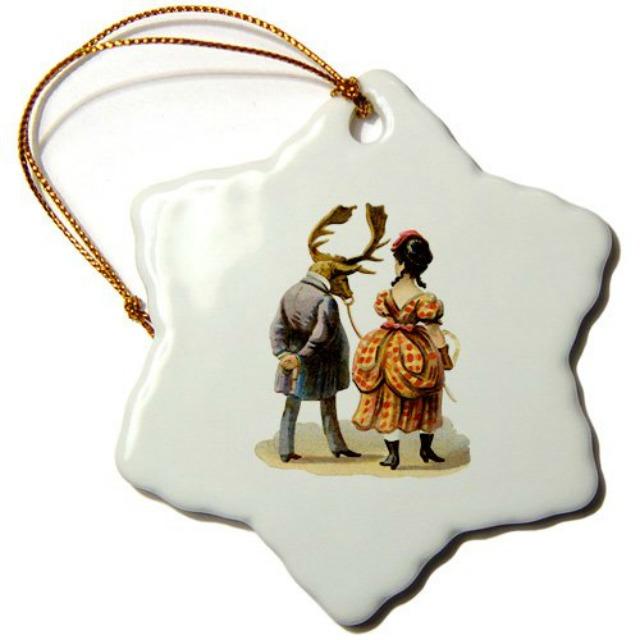 elk man ornament