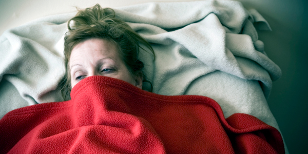 Woman with Chronic Fatigue