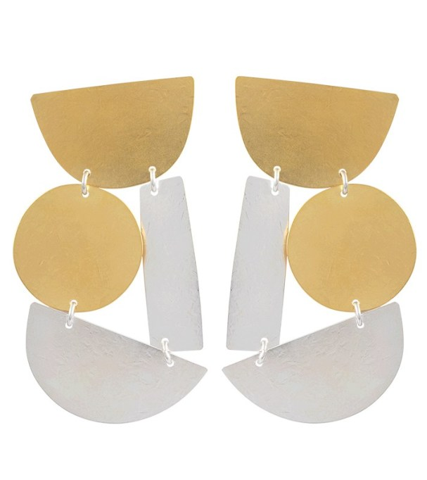 Chunky Jewelry Is Making a Comeback: Annie Costello Brown Masha Earrings | Fall Style 2017