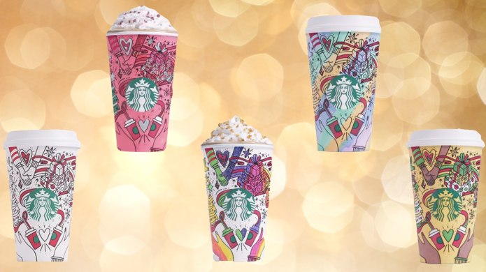Starbucks' New Holiday Cups & 5