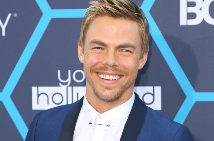 Derek Hough at the Young Hollywood awards