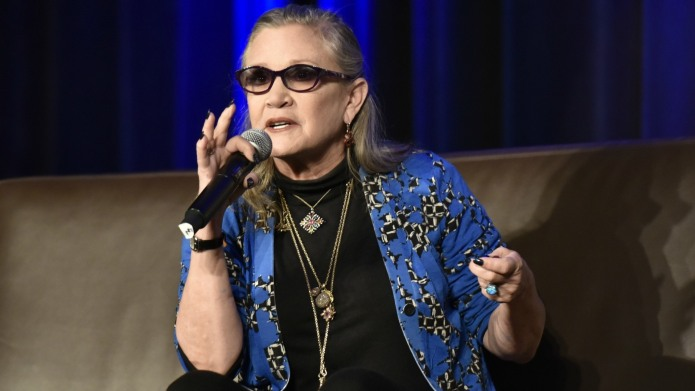 You'll Never Guess What Carrie Fisher