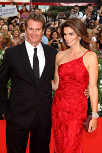Cindy Crawford and Rande Gerber at Venice Film Festival