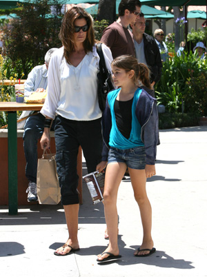 Cindy Crawford and daughter Kaia