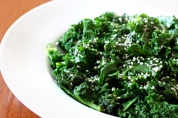Sesame Citrus Kale
