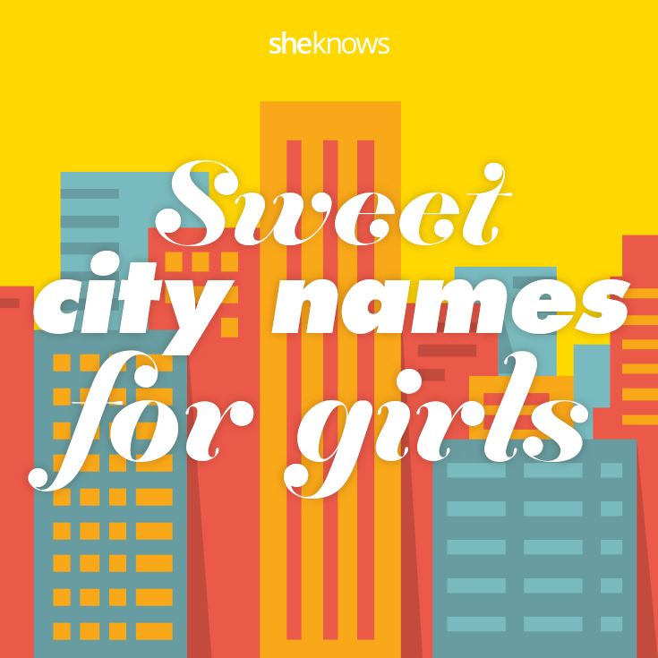 City baby names for girls