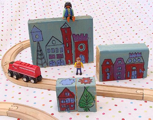 Fun City Scape Blocks