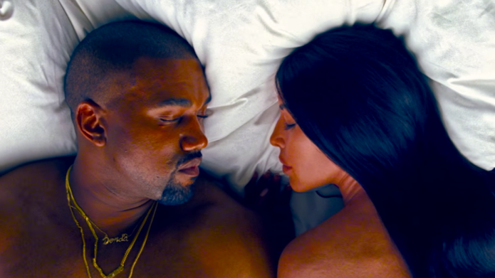 You can see Kanye West naked