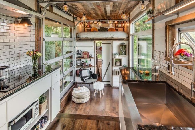 A Look Inside Some of the Most Glamorous Tiny Homes for Sale: the alpha