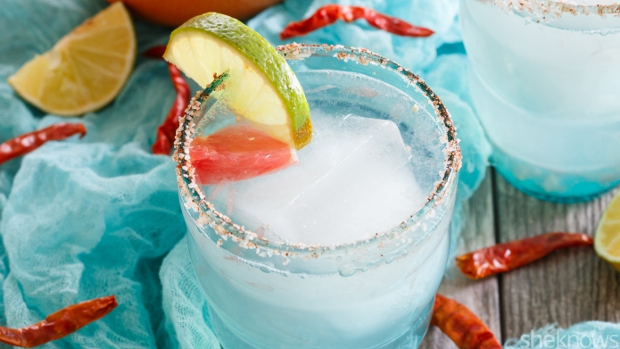 Spicy grapefruit margarita — just what