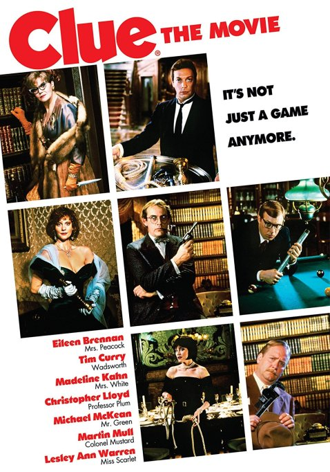 'Clue the Movie' poster