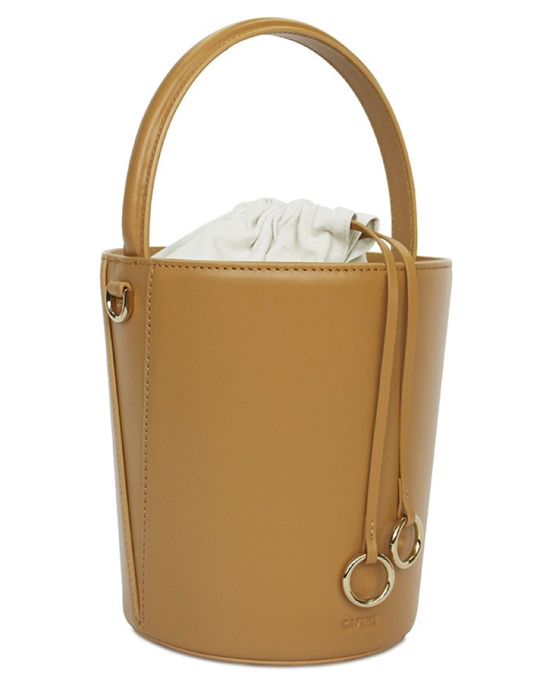 Fall fashion trends: Cafuné Basket Bag in Mustard | Fall Fashion 2017
