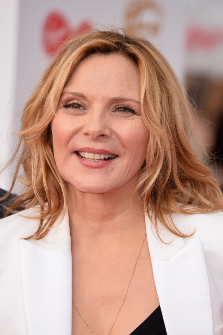 Celebrities Who are Honest About Aging: Kim Cattrall, 61 years old