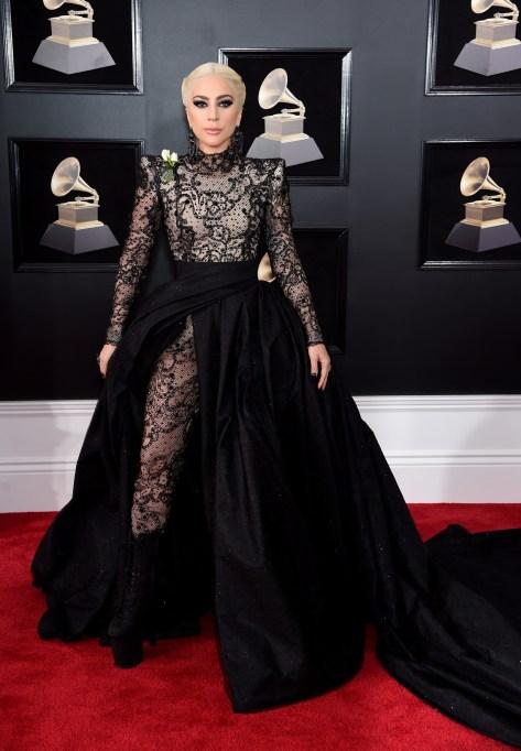 Grammys 2018 Best Dressed: Lady Gaga