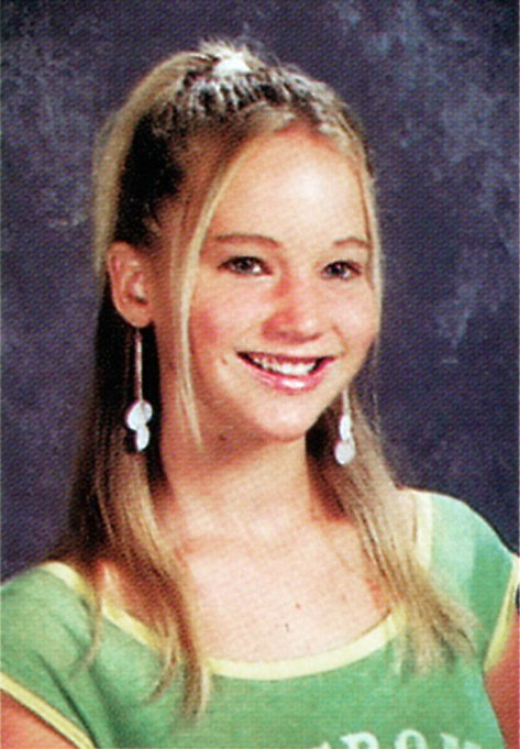 Jennifer Lawrence Yearbook Photo