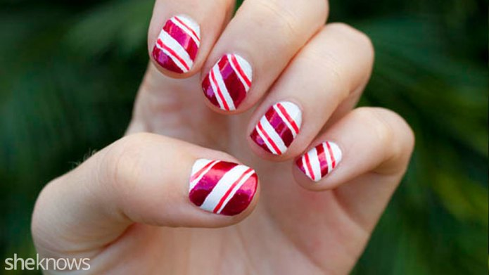 How to create a candy cane