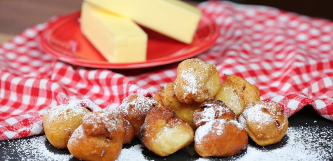 Deep-fried butter