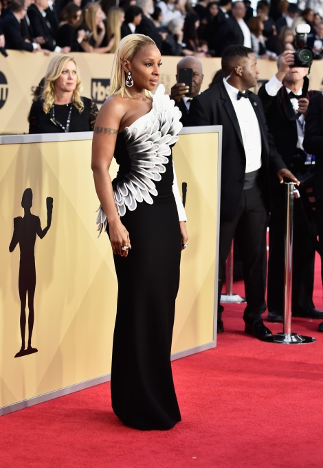 2018 SAG Awards Best Dressed: Mary J. Blige