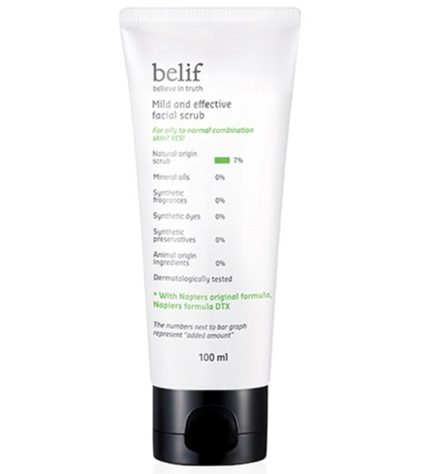 Alternatives To Retinoids | Belif Mild and Effective Facial Scrub