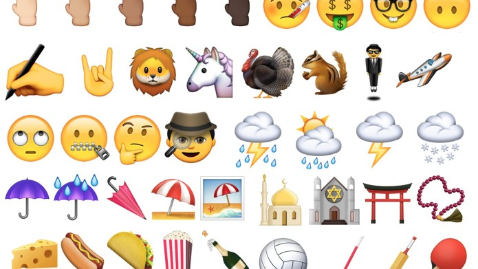 New emojis are here, and they're