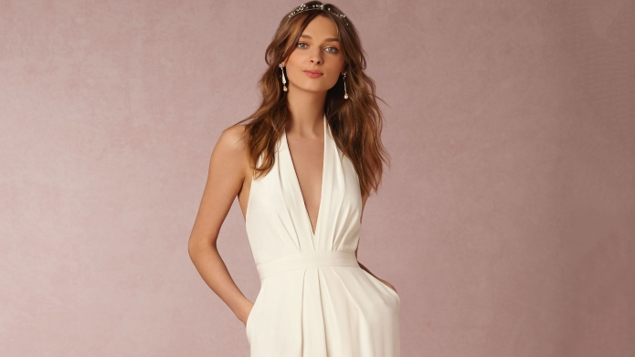 14 wedding jumpsuits for brides who