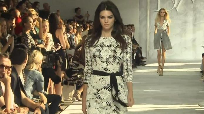 Watch Kendall Jenner work the Fashion