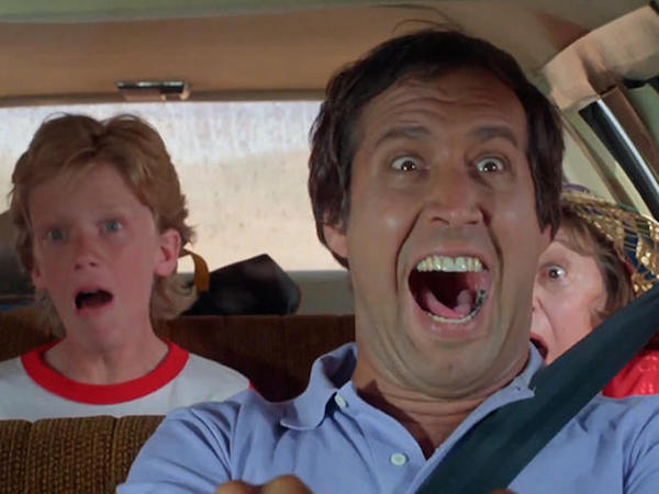 Chevy Chase played Clark Griswold in National Lampoon's Vacation