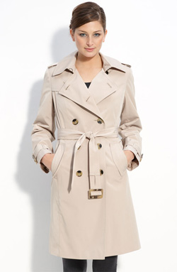 London Fog double-breasted trench