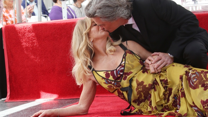 Goldie Hawn And Kurt Russell Honored