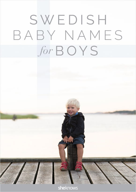Swedish boy names