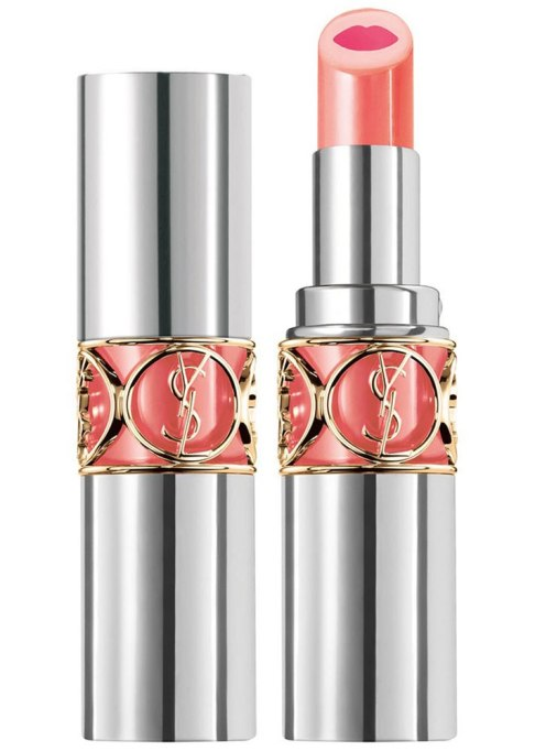 Best Orange Lipsticks For This Fall: Yves Saint Laurent Volupté Tint In Balm In Flirt Me Coral | Fall Makeup
