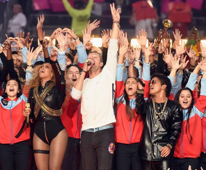 Beyonce & Bruno Mars Super Bowl 50