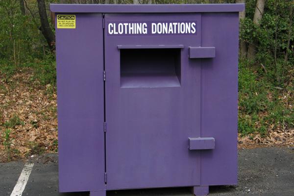 Clothing Donation Bin