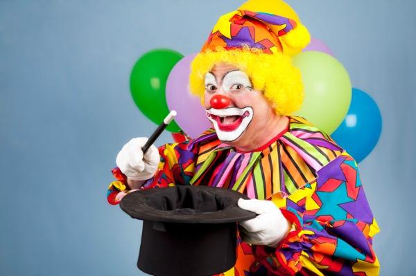 Wedding clown
