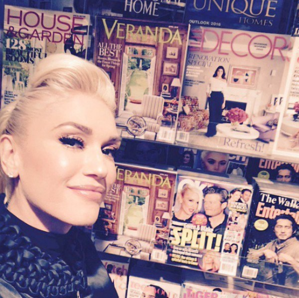 Gwen Stefani mocks break up rumors