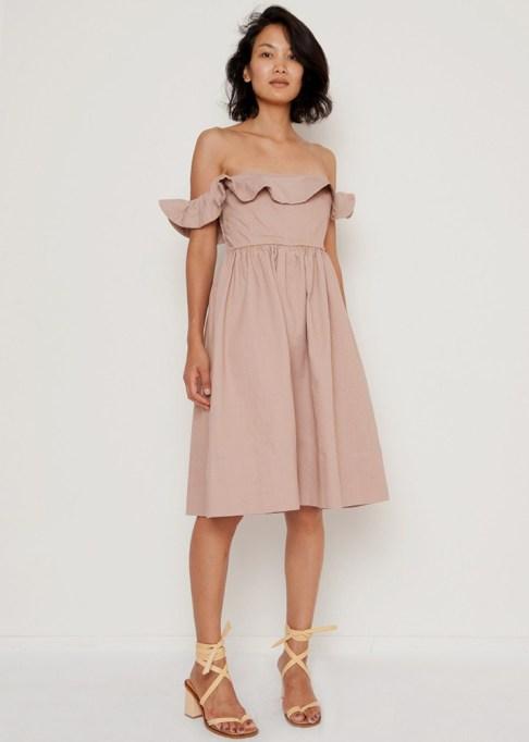 Summer Cocktail Dresses That Are Versatile: Apiece Apart Novella Maria Dress | Summer Fashion 2017