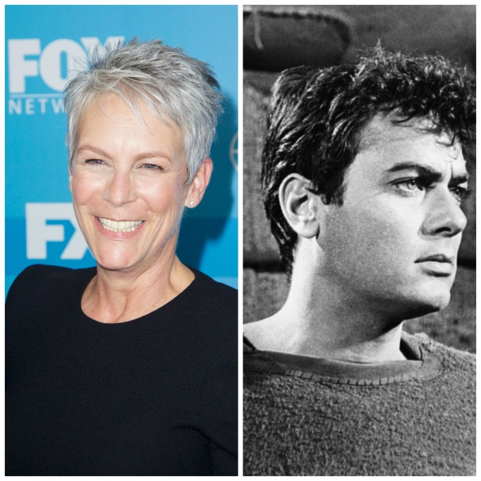 Celebrities with famous fathers: Jamie Lee Curtis & Tony Curtis
