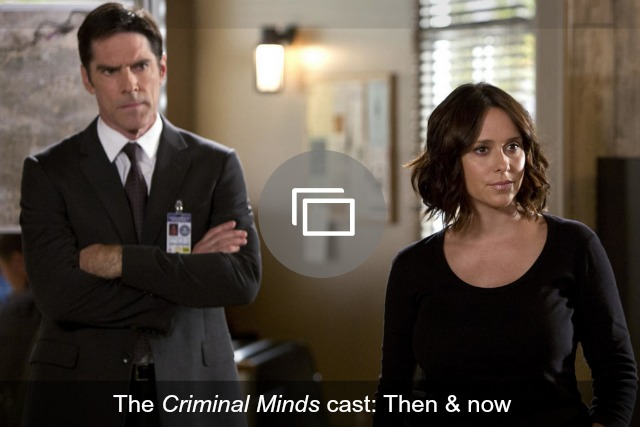 Criminal Minds slideshow then & now