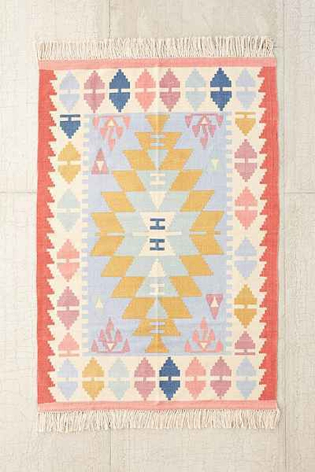 Ways to Create a Cozy Reading Nook   Assembly Home Isolde Kilim Printed Rug