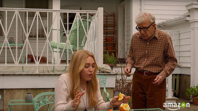 Miley Cyrus and Woody Allen
