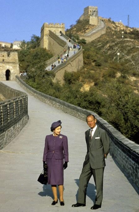 Queen Elizabeth II & Prince Philip in 1986