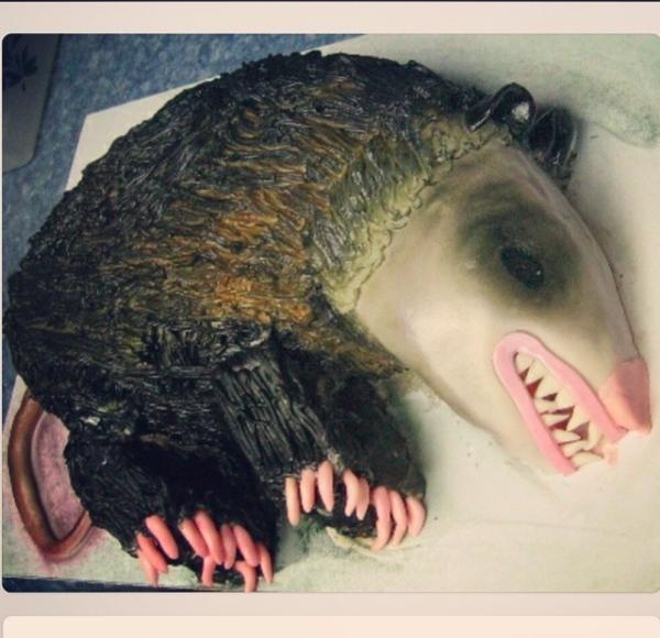 Possum cake