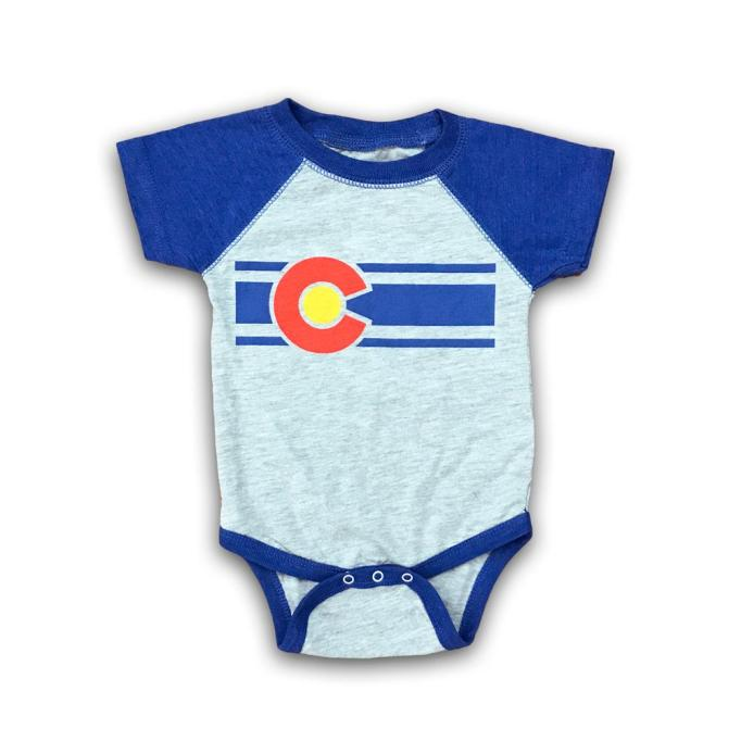 State Pride Baby Onesies: Colorado