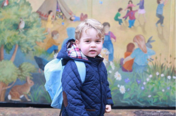 Kate Middleton took Prince George's first