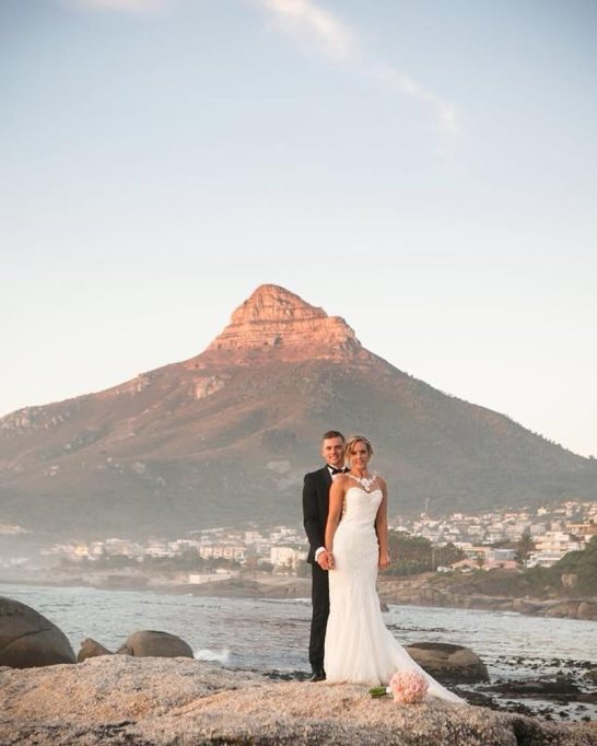 Best Destination Wedding Location: Camps Bay, Cape Town, South Africa