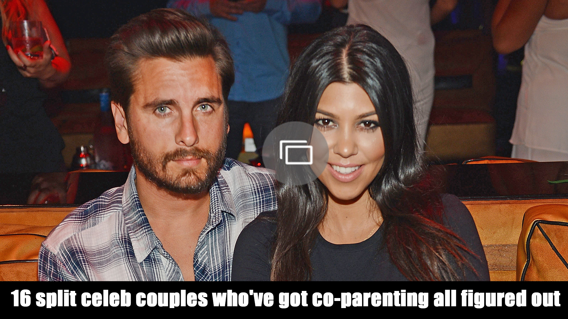 Co-parenting divorced celebs