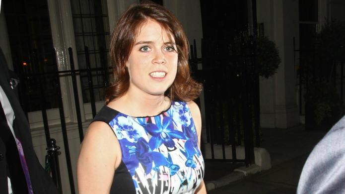 Princess Eugenie gets charitable with jewelry