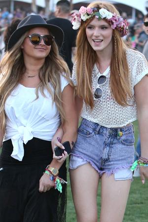 Bella Thorne at Coachella
