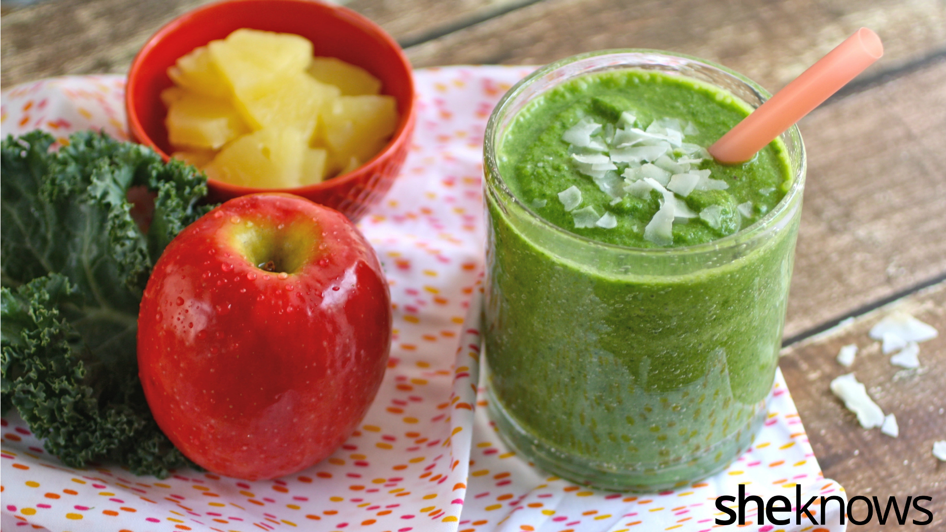 Easy Coconut Kale Smoothies For A Healthy Breakfast That Tastes