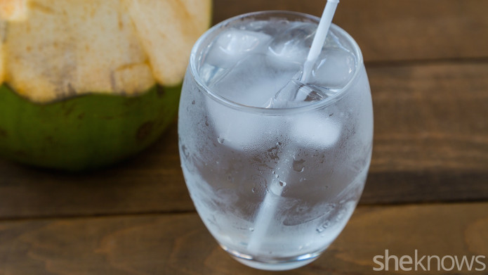 A coconut water cocktail you can